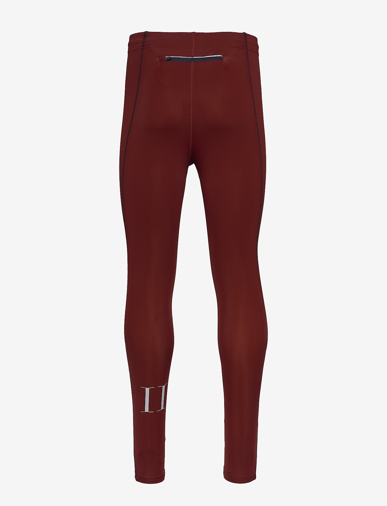Les Deux - Men's Long Tight Sogndal - running & training tights - clay red - 1