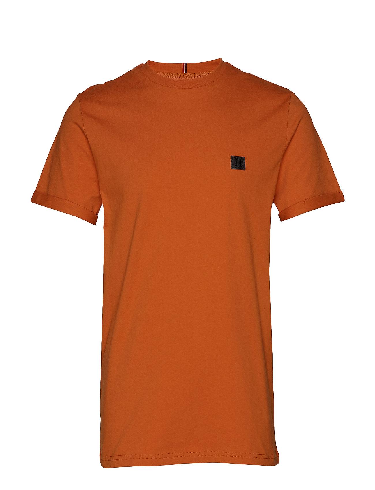 Les Deux Piece T-Shirt - ORANGE/CHARCOAL