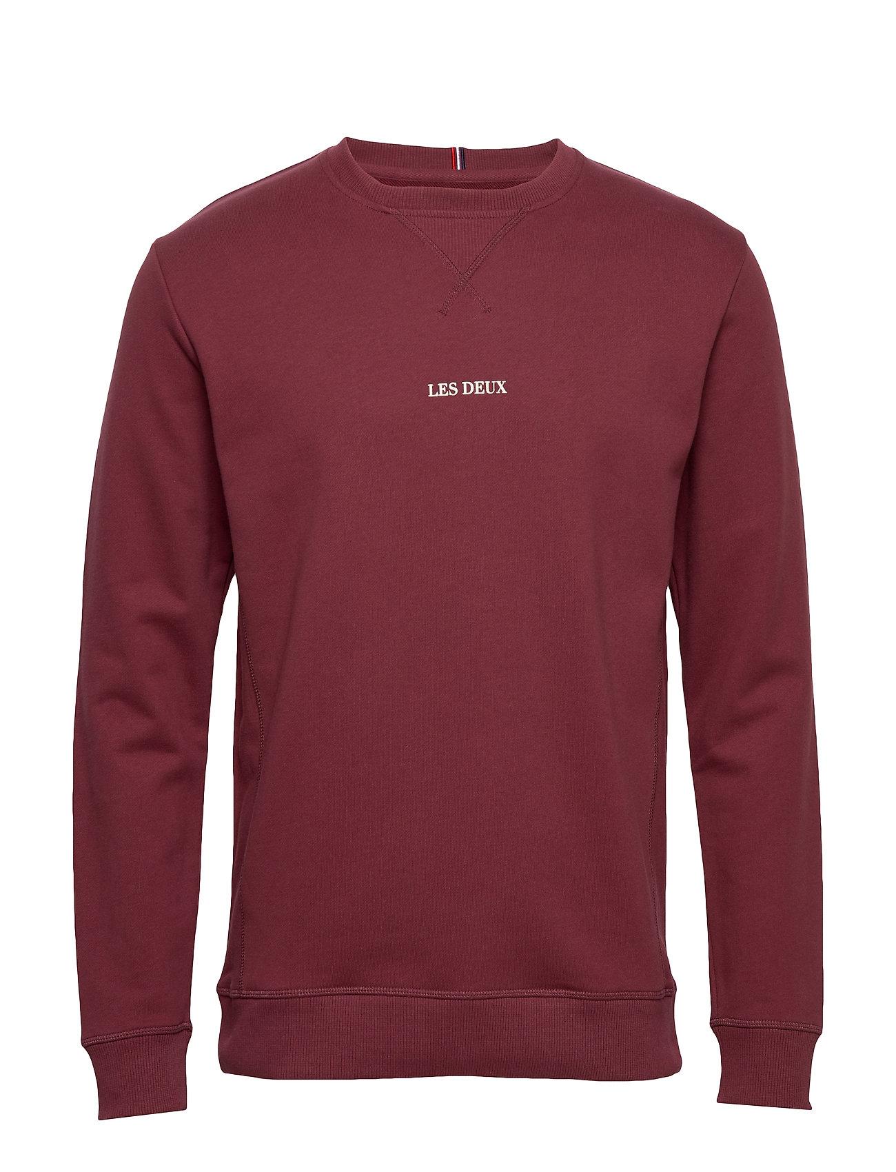 Les Deux Lens Sweatshirt - 6565-BURGUNDY