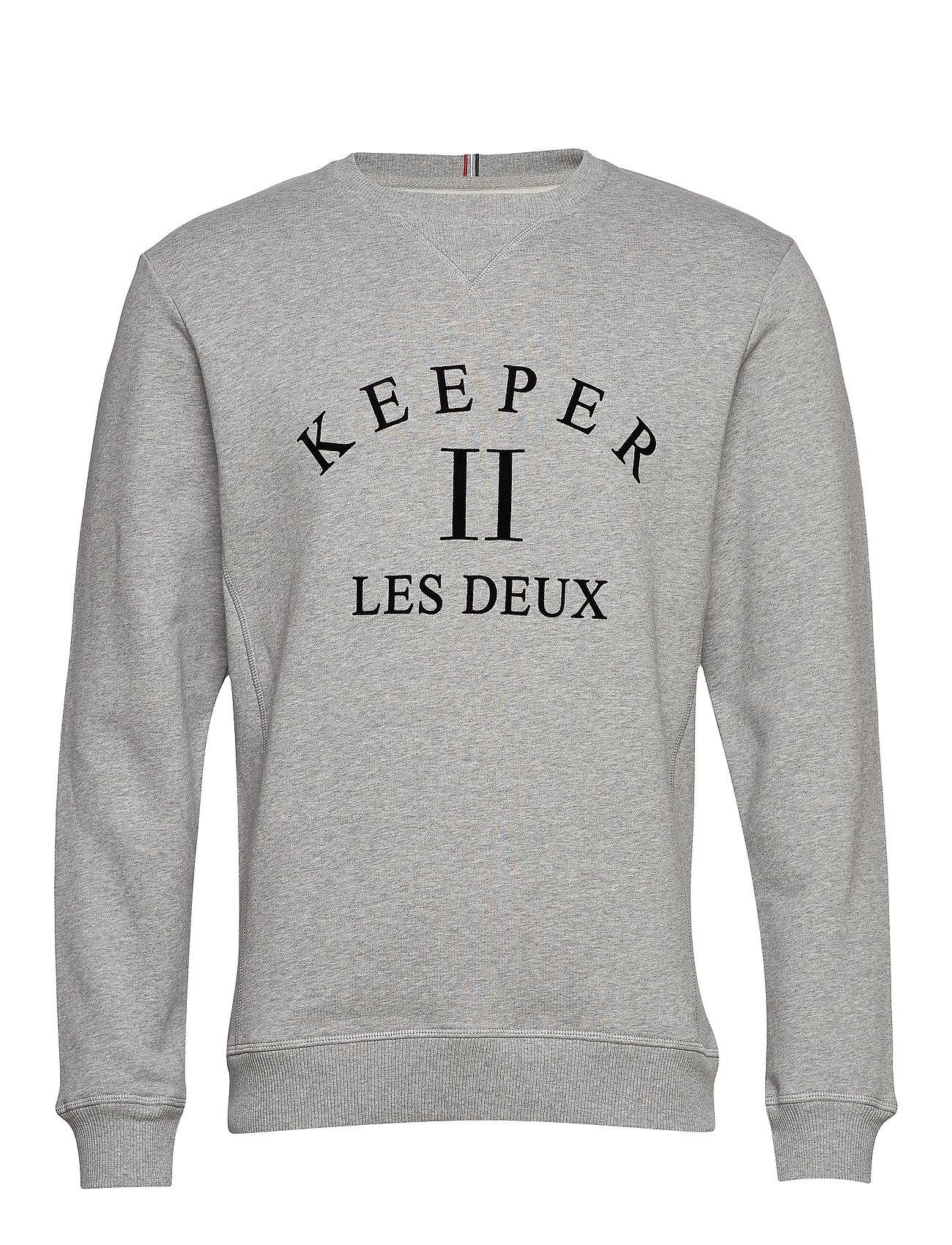 Les Deux Keeper Sweatshirt - 320320-GREY MELANGE