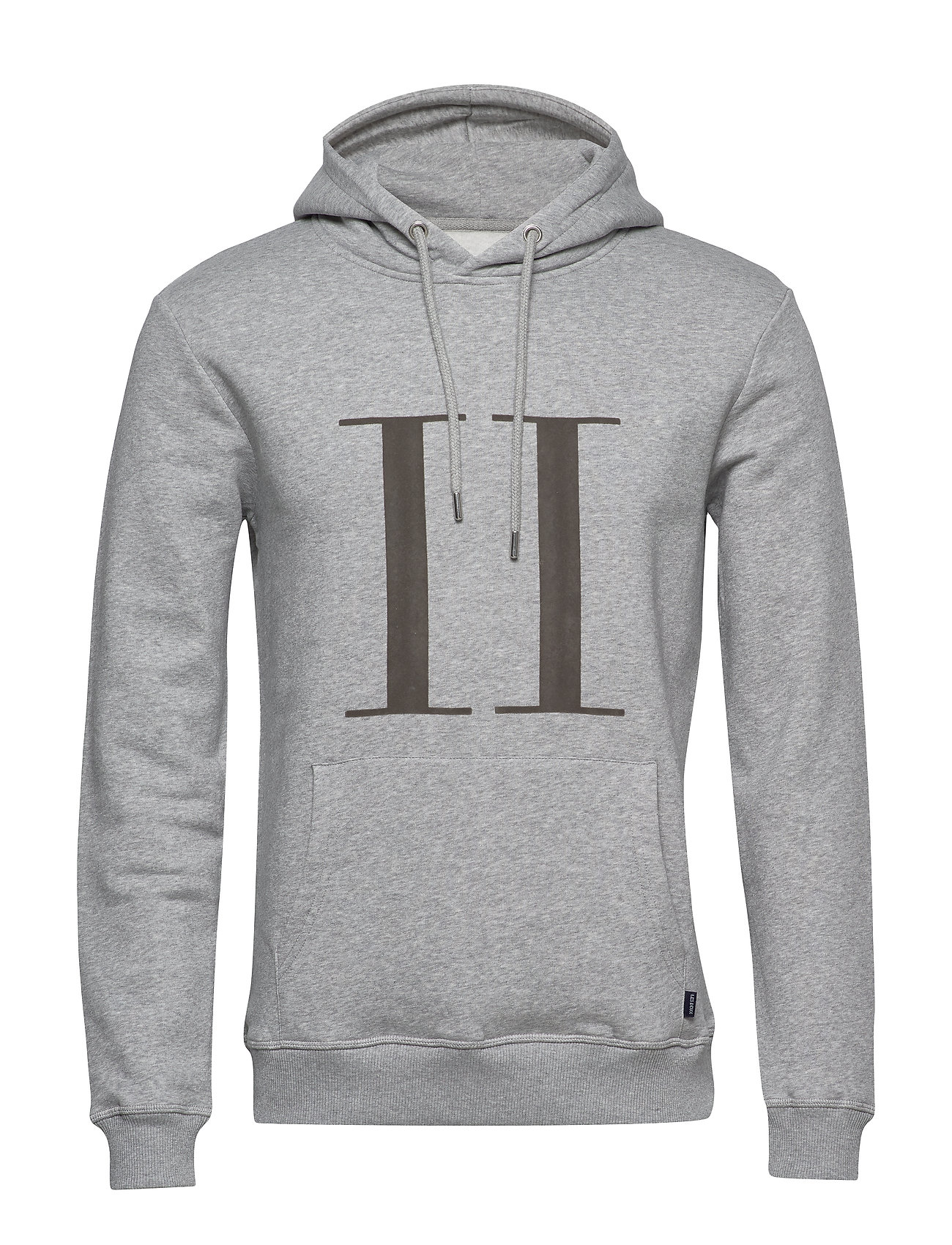 Les Deux Encore Hoodie - LIGHT GREY MELANGE/MEDIUM GREY