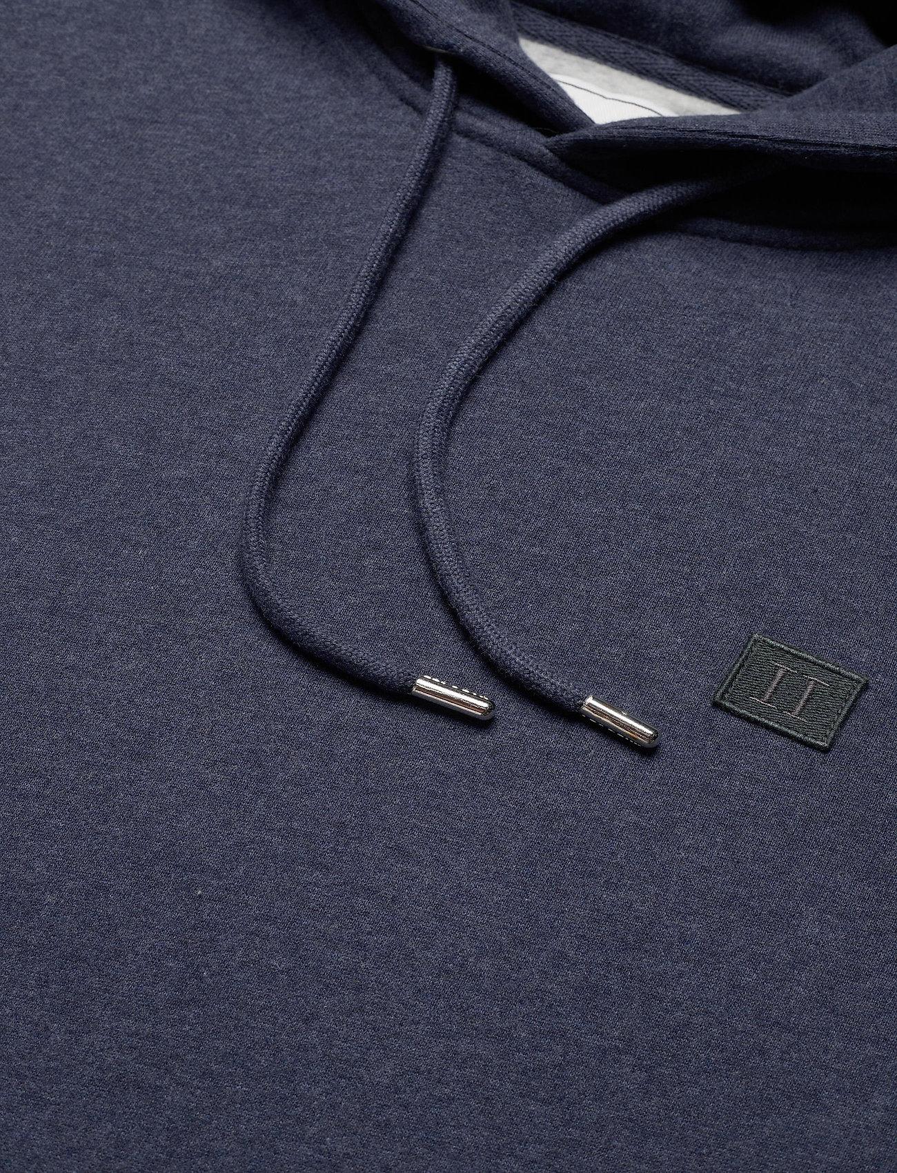 Les Deux Piece Hoodie - Sweatshirts ROYAL BLUE MELANGE/BLUE FOG-CHARCOAL - Menn Klær