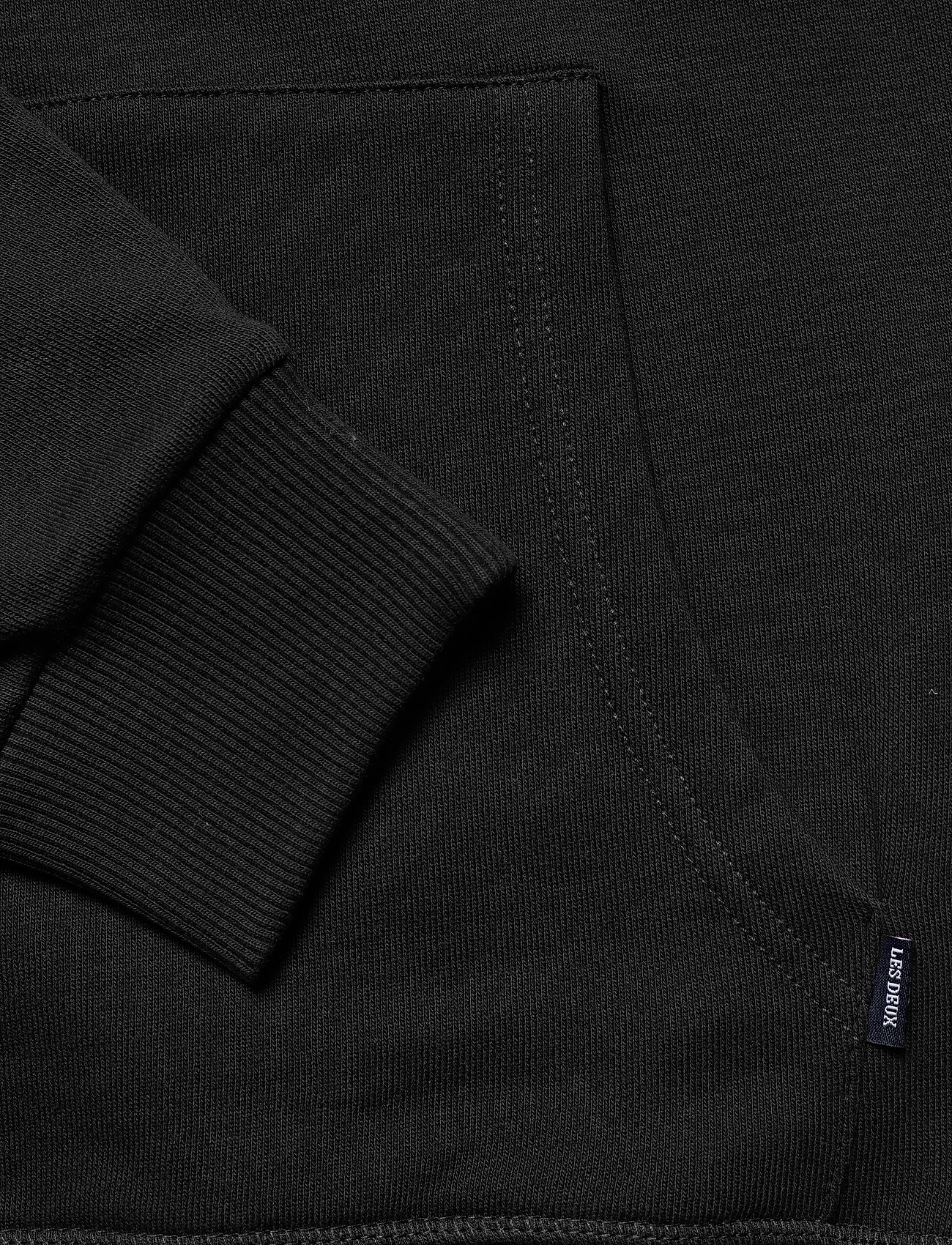 Les Deux Shield Hoodie - Sweatshirts BLACK - Menn Klær