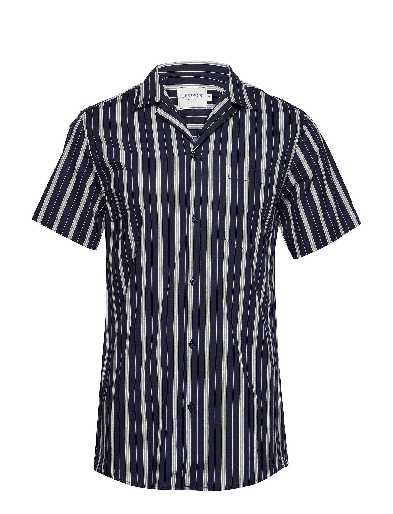 Les Deux Manny Shirt - DARK NAVY