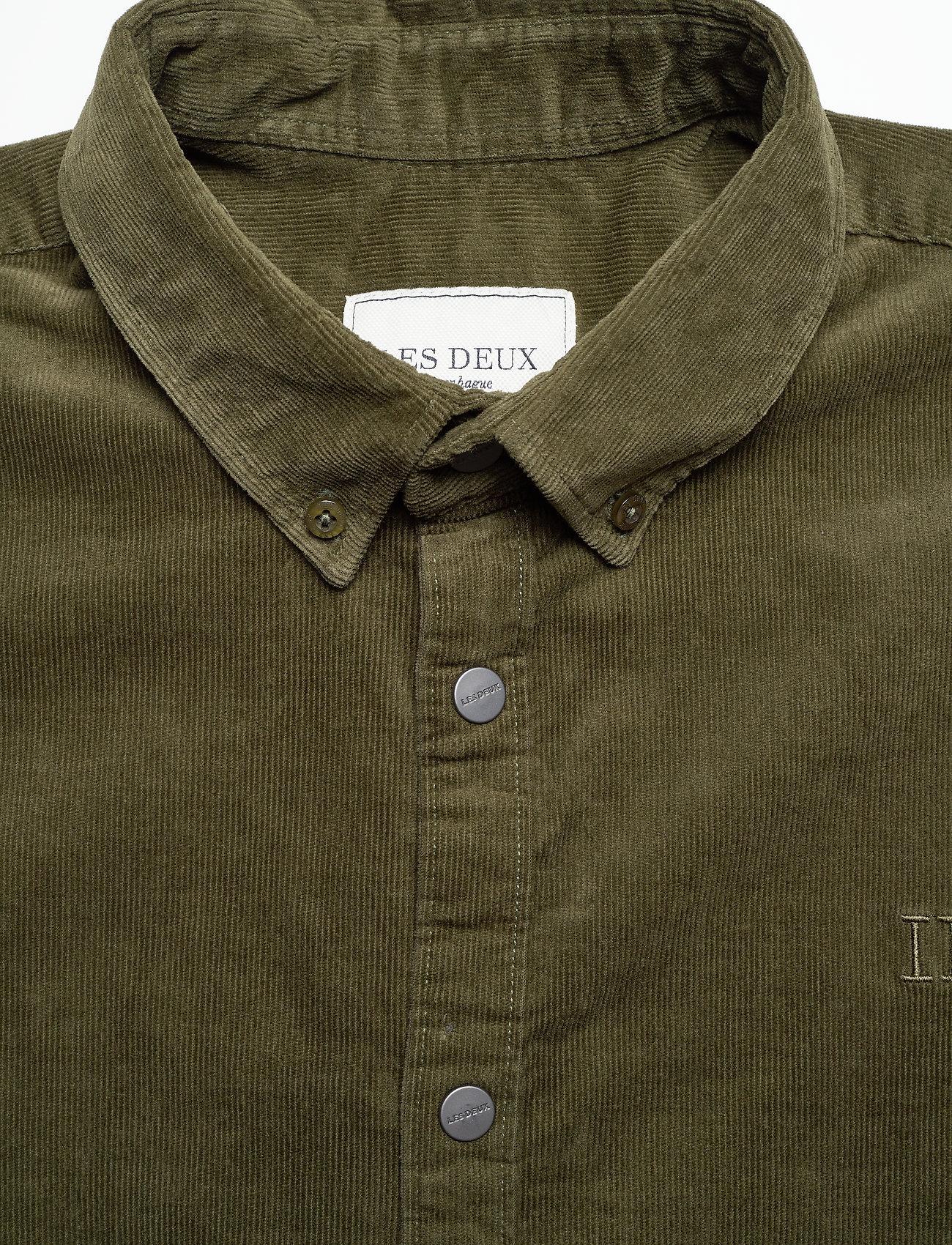 Les Deux Felix Corduroy Shirt- Chemises XFw4QZcV aoBkh dd4aNTcd
