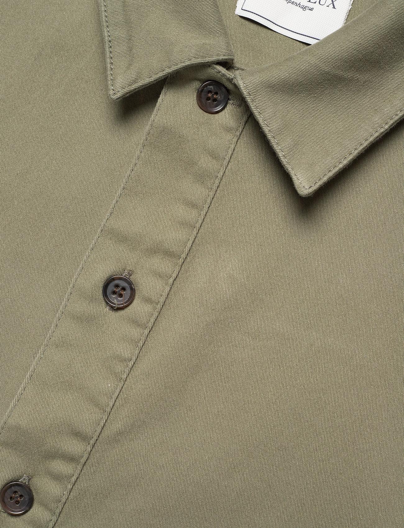 Les Deux - Pascal Overshirt - odzież - lichen green - 3