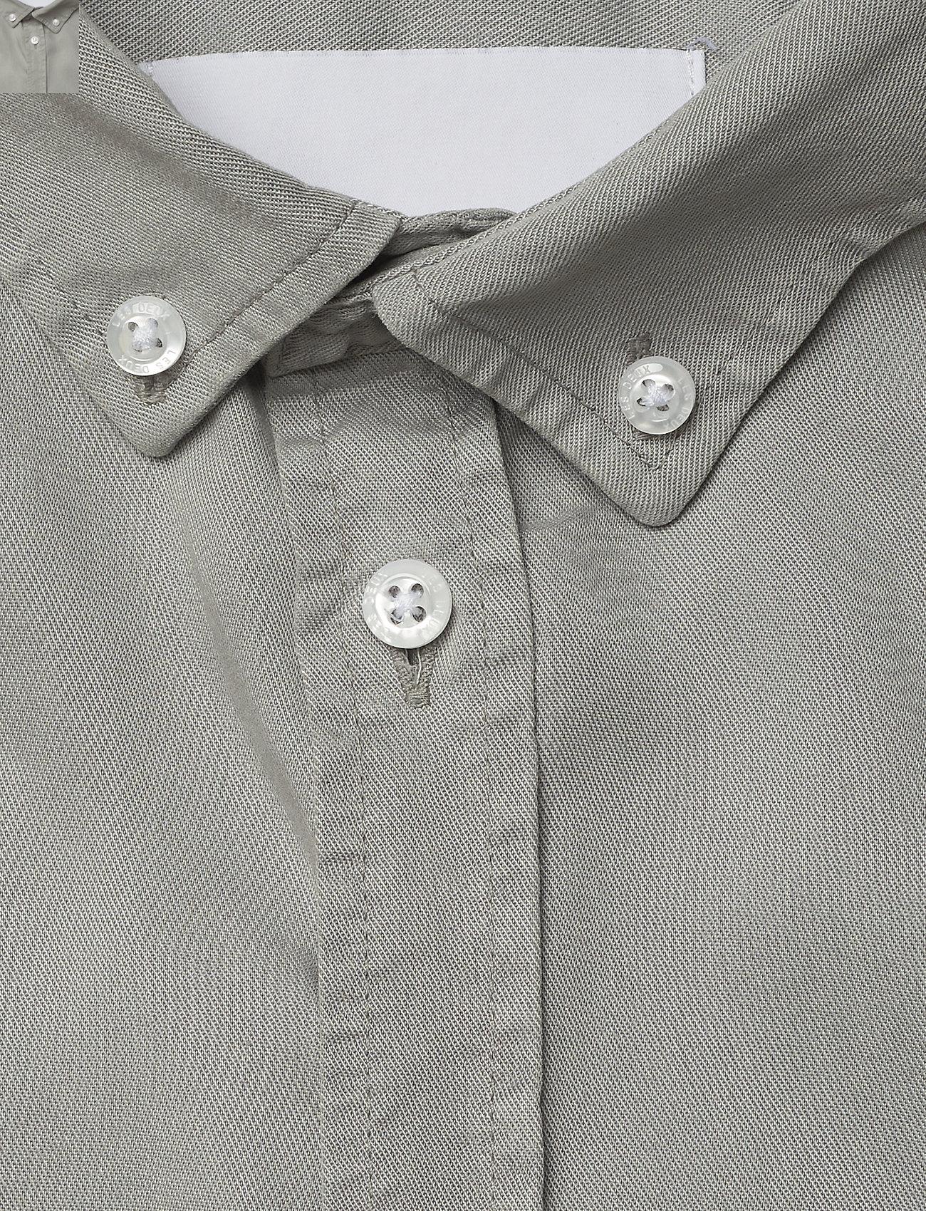 Les Deux - Laurent Tencel Twill Shirt - geruite overhemden - mirage gray - 3