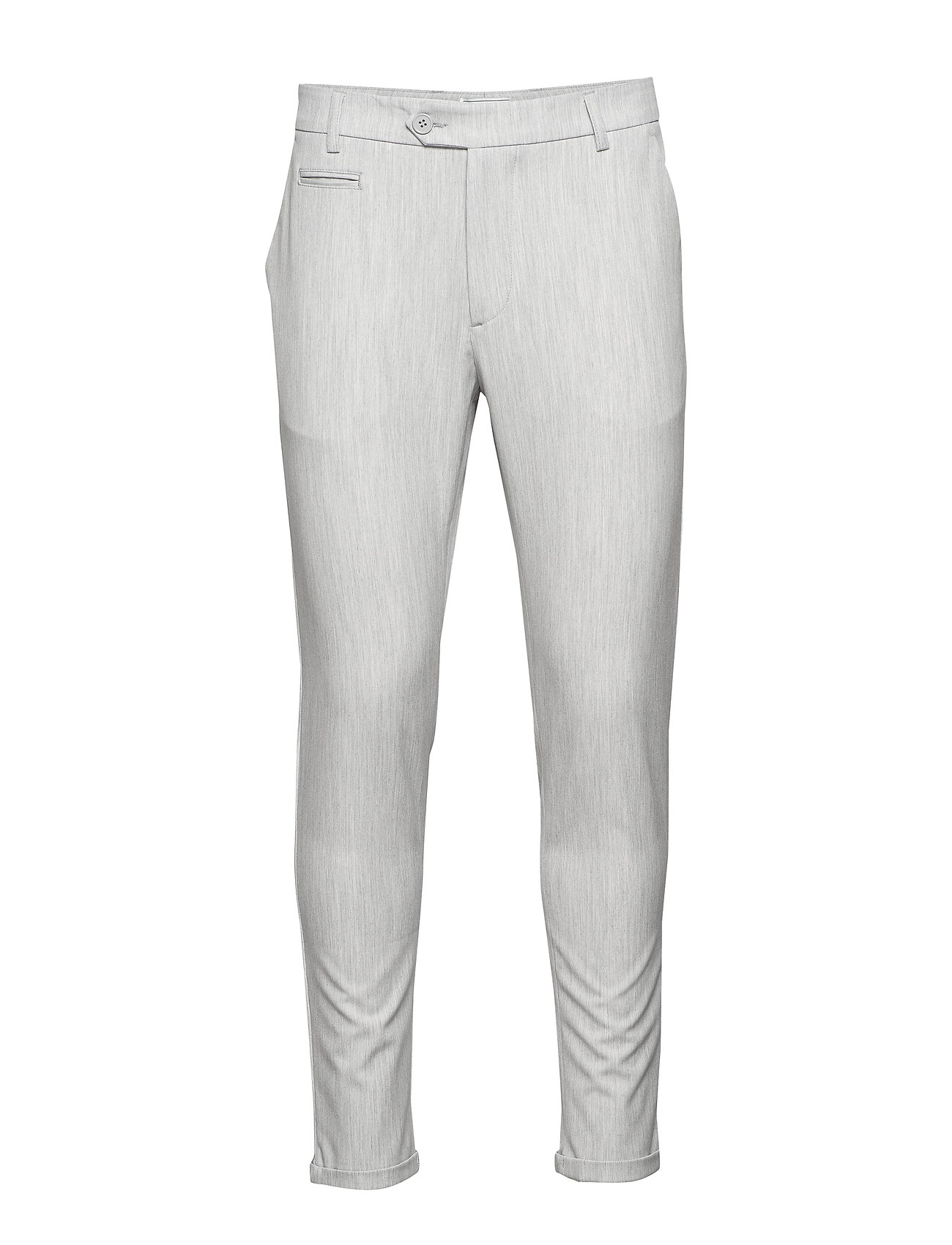 Les Deux Como LIGHT Suit Pants - SNOW MELANGE