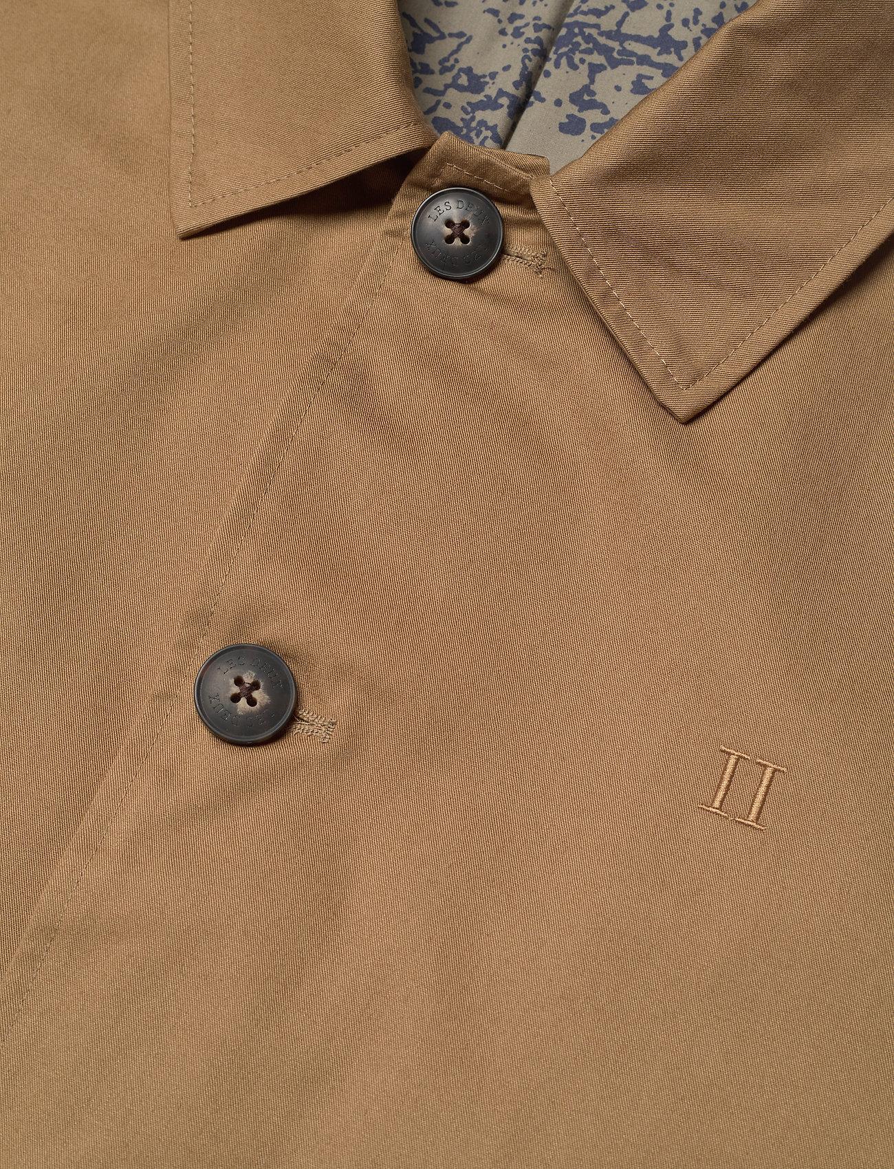 Les Deux - Marley Cotton Coat - wełniane płaszcze - stone brown - 2