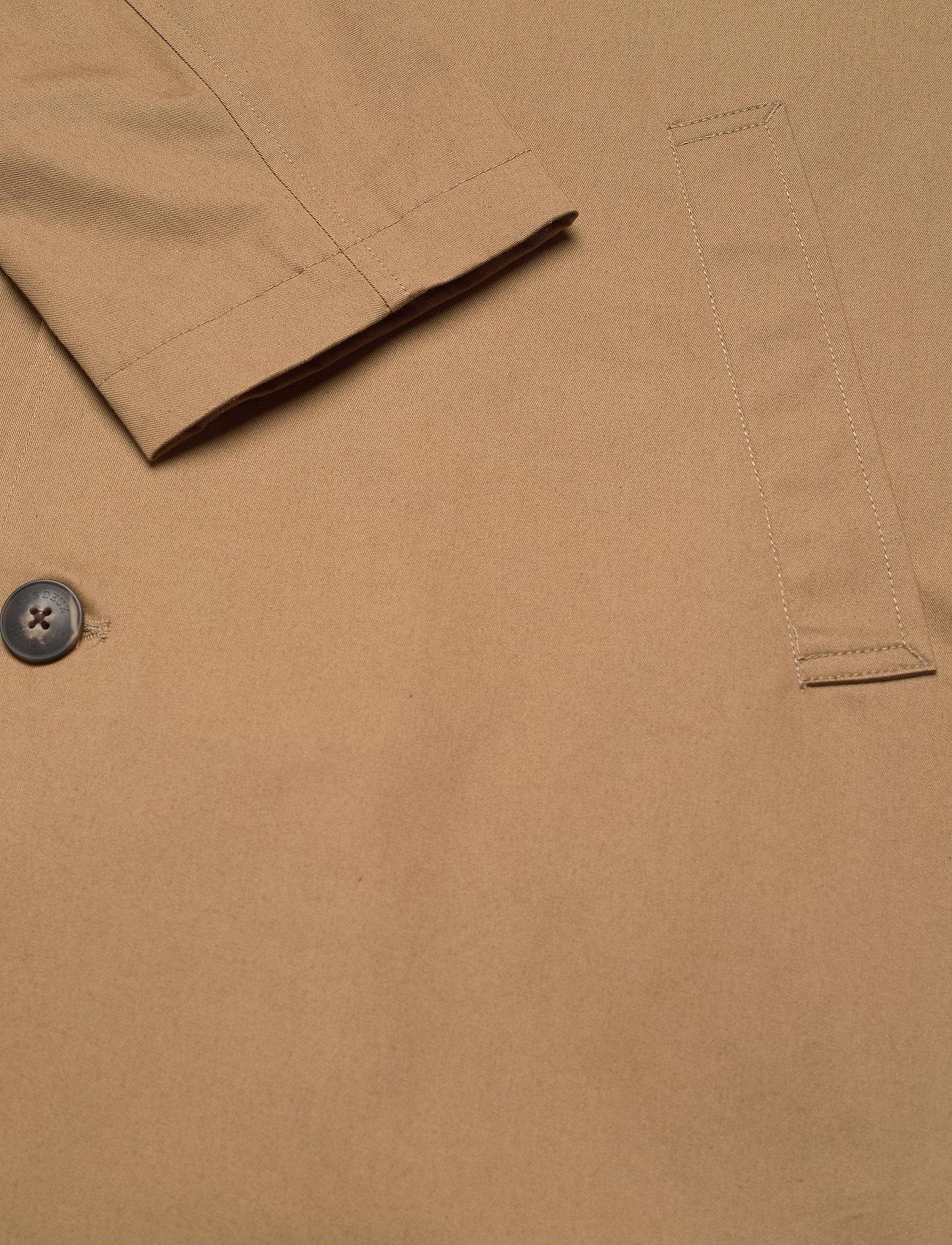 Les Deux - Marley Cotton Coat - wełniane płaszcze - stone brown - 3