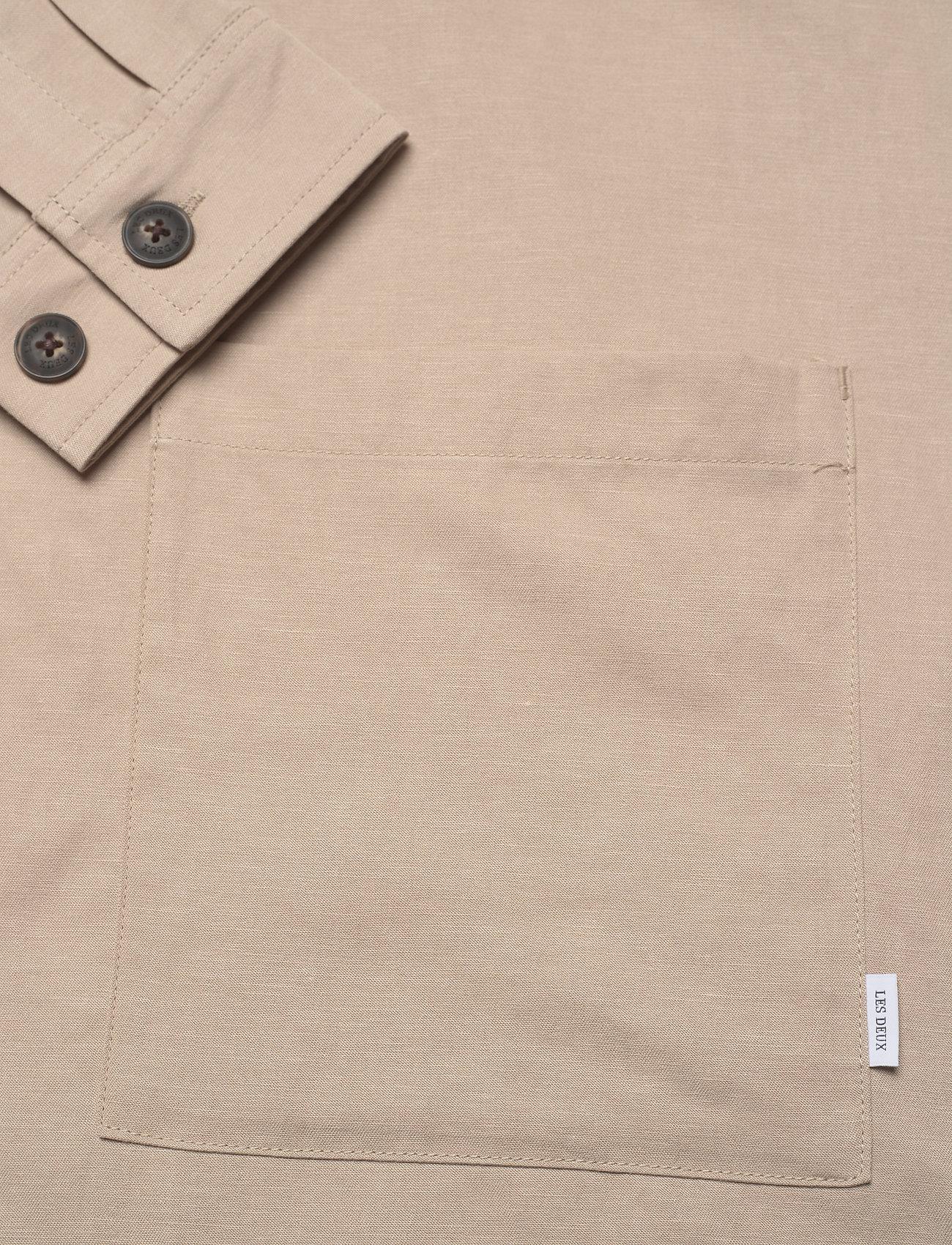 Les Deux - Howard Linen-Tencel Hybrid - vestes légères - dark sand - 3