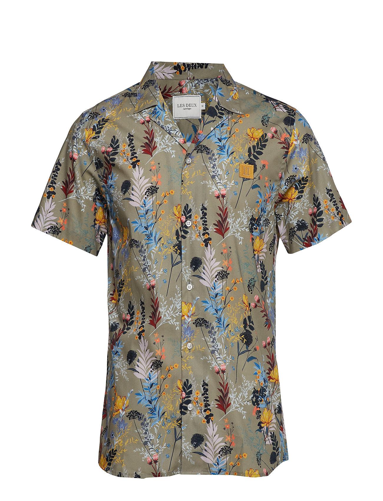 Les Deux Boozt SS Shirt - TEA GREEN