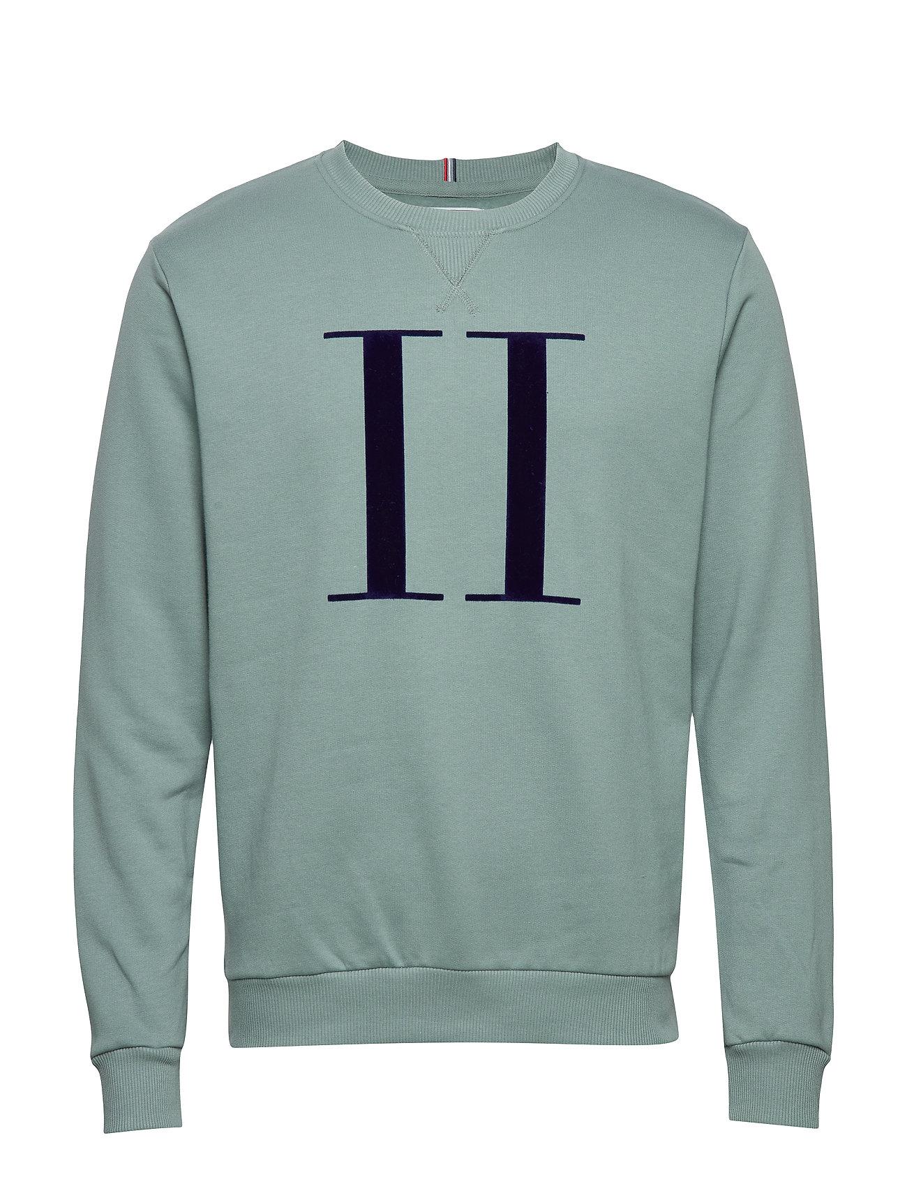 Les Deux Encore Sweatshirt - PETROL BLUE/DK. NAVY