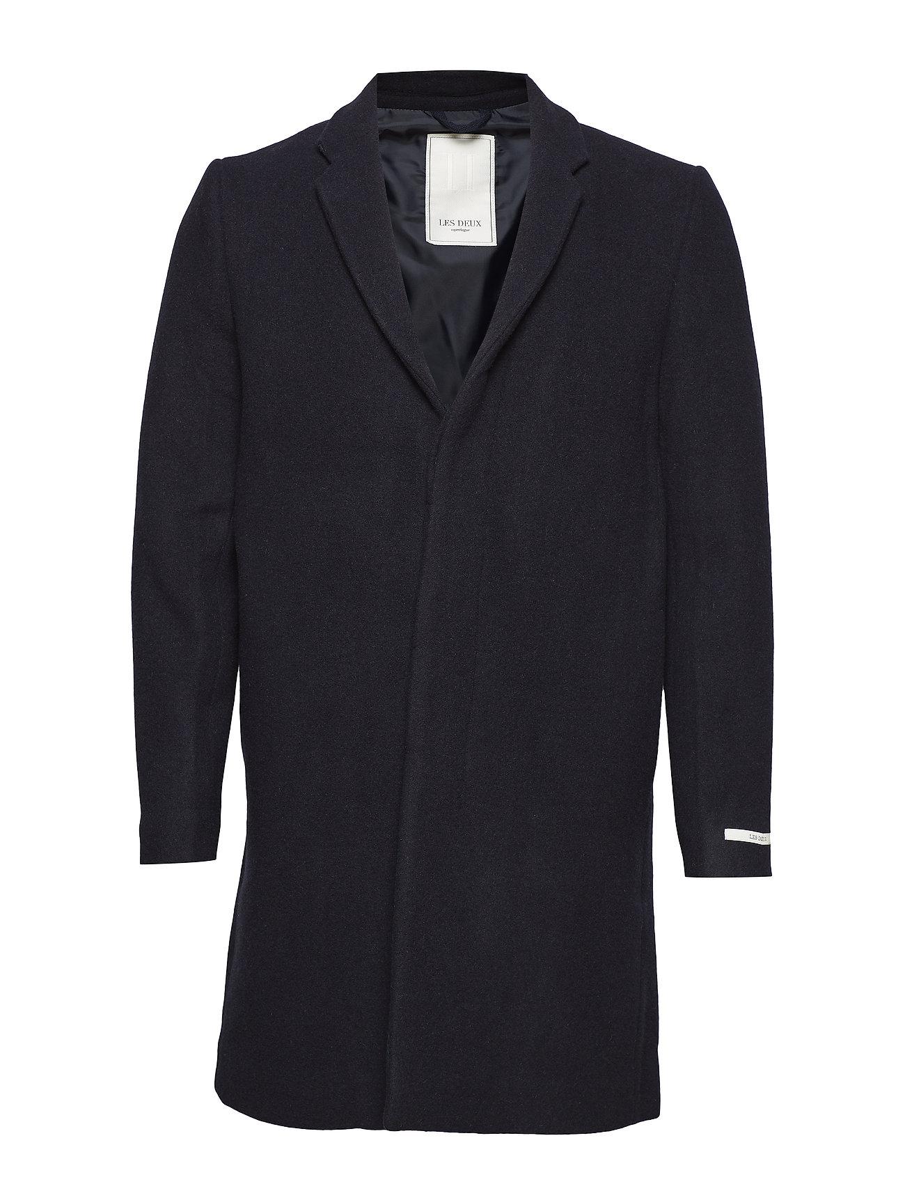 Les Deux Frielle Tailored Coat - NAVY