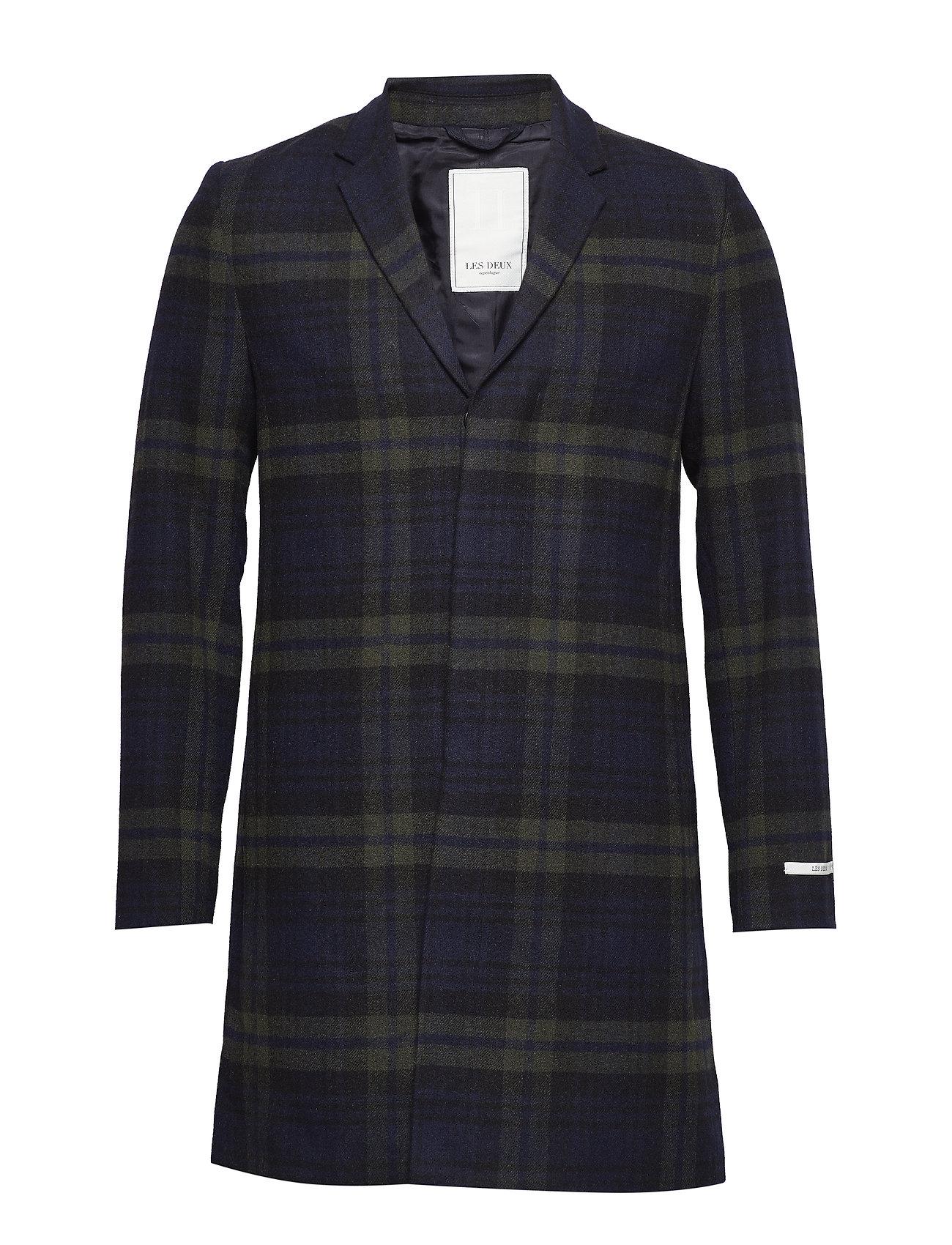 Les Deux Frielle Tailoröd Check Coat Ytterkläder