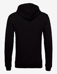 Les Deux - Boozt Piece Hoodie - basic sweatshirts - black/yellow - 1