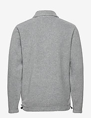 Les Deux - Copparo Fleece Rubgy Sweatshirt - podstawowe bluzy - light grey melange/off white - 1