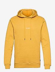 Les Deux - Lens Hoodie - hoodies - yellow/white - 0