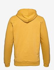 Les Deux - Lens Hoodie - hoodies - yellow/white - 1