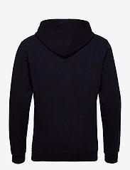 Les Deux - Egalité Hoodie - hoodies - dark navy with multicolor artwork - 1