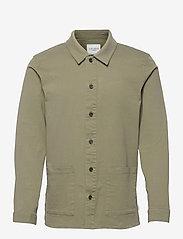 Les Deux - Pascal Overshirt - odzież - lichen green - 0