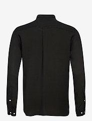 Les Deux - Laurent Tencel Dobby Shirt - chemises à carreaux - black - 1