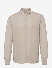 Laurent Tencel Dobby Shirt - DARK SAND