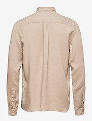 Les Deux - Laurent Tencel Twill Shirt - chemises à carreaux - dark sand - 1
