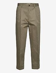 Preston Cotton Pants - LICHEN GREEN