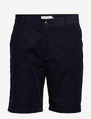Les Deux - Felix Corduroy Light Shorts - chinot - dark navy - 0