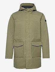 Les Deux - Damien Summer Parka Coat - manteaux legères - lichen green - 0
