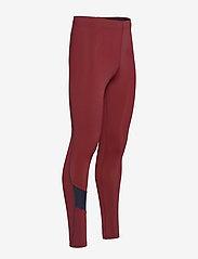 Les Deux - Men's Long Tight Sogndal - running & training tights - clay red - 2