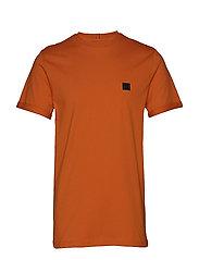 Piece T-Shirt - ORANGE/CHARCOAL