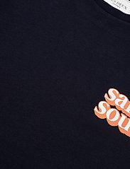 Les Deux - Sans Souci T-Shirt - basic t-shirts - dark navy - 2