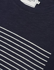Les Deux - Antibes T-shirt - printed t-shirts - dark navy/off white - 2