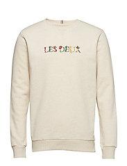 Les Deux Fleur Sweatshirt - LIGHT BROWN