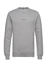 Lens Sweatshirt - GREY MELANGE