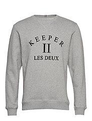 Keeper Sweatshirt - 320320-GREY MELANGE