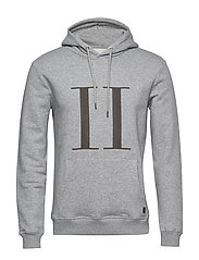 Encore Hoodie - LIGHT GREY MELANGE/MEDIUM GREY