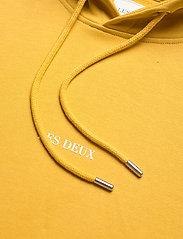 Les Deux - Lens Hoodie - hoodies - yellow/white - 2