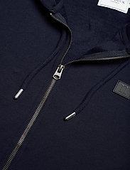 Les Deux - Clinton Zipper Hoodie - basic sweatshirts - dark navy/black - 2