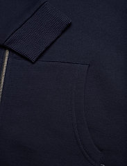 Les Deux - Clinton Zipper Hoodie - basic sweatshirts - dark navy/black - 3