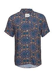 Psychedelique Shirt - AOP PURPLE