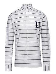 Leperie Shirt - WHITE/NAVY