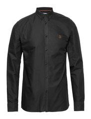 Oliver Oxford Shirt - 0101-BLACK