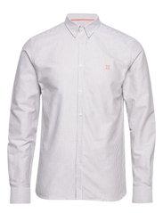 Oliver Oxford Shirt - 5892-DARK OLIVE STRIPE