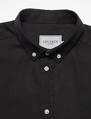 Les Deux - Laurent Tencel Dobby Shirt - chemises à carreaux - black - 2