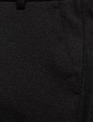 Les Deux - Como Wool Pants - puvunhousut - charcoal melange - 2