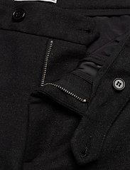 Les Deux - Como Wool Pants - puvunhousut - charcoal melange - 3