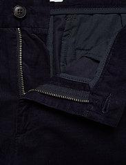 Les Deux - Felix Corduroy Light Shorts - chinot - dark navy - 3